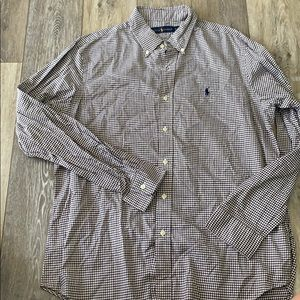 Men's Ralph Lauren button down large